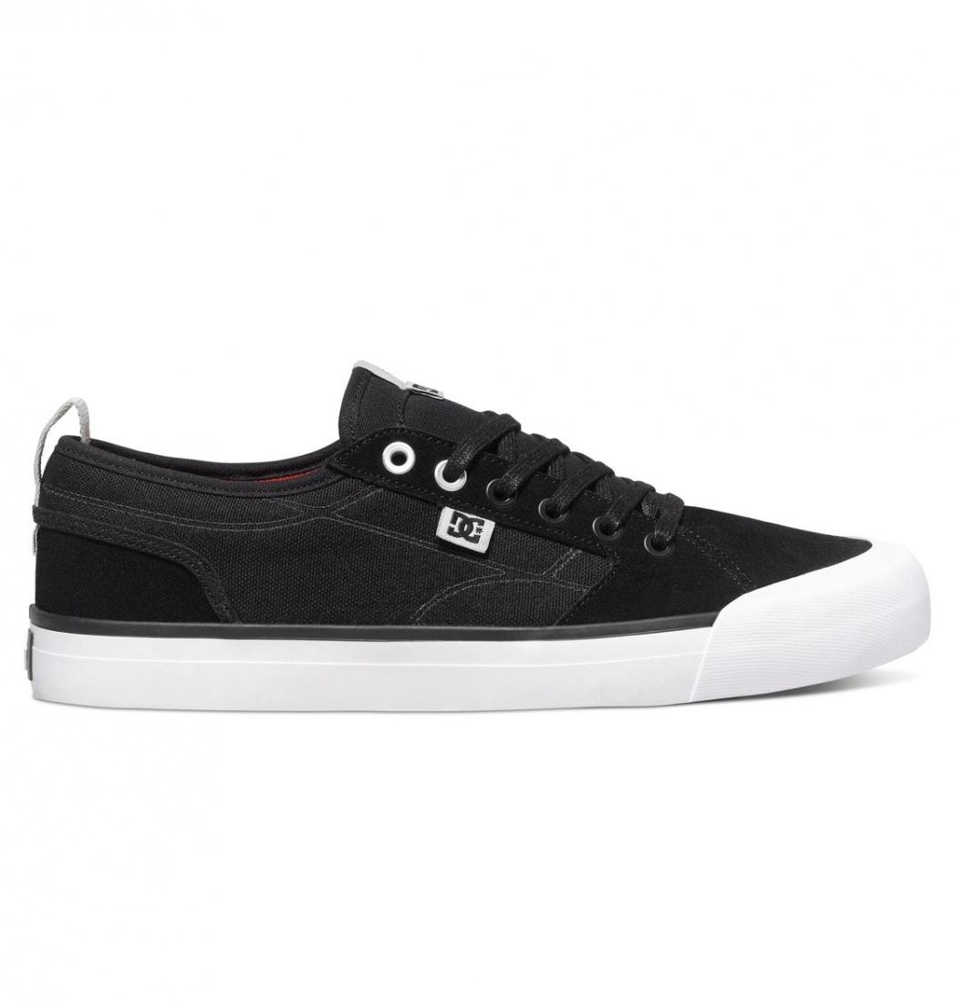 DC SHOES ПОЛУБОТИНКИ DC EVAN SMITH S M SHOE BLK МУЖСКИЕ BLACK 10 dc shoes шорты классические dc evan short wkst pirate black