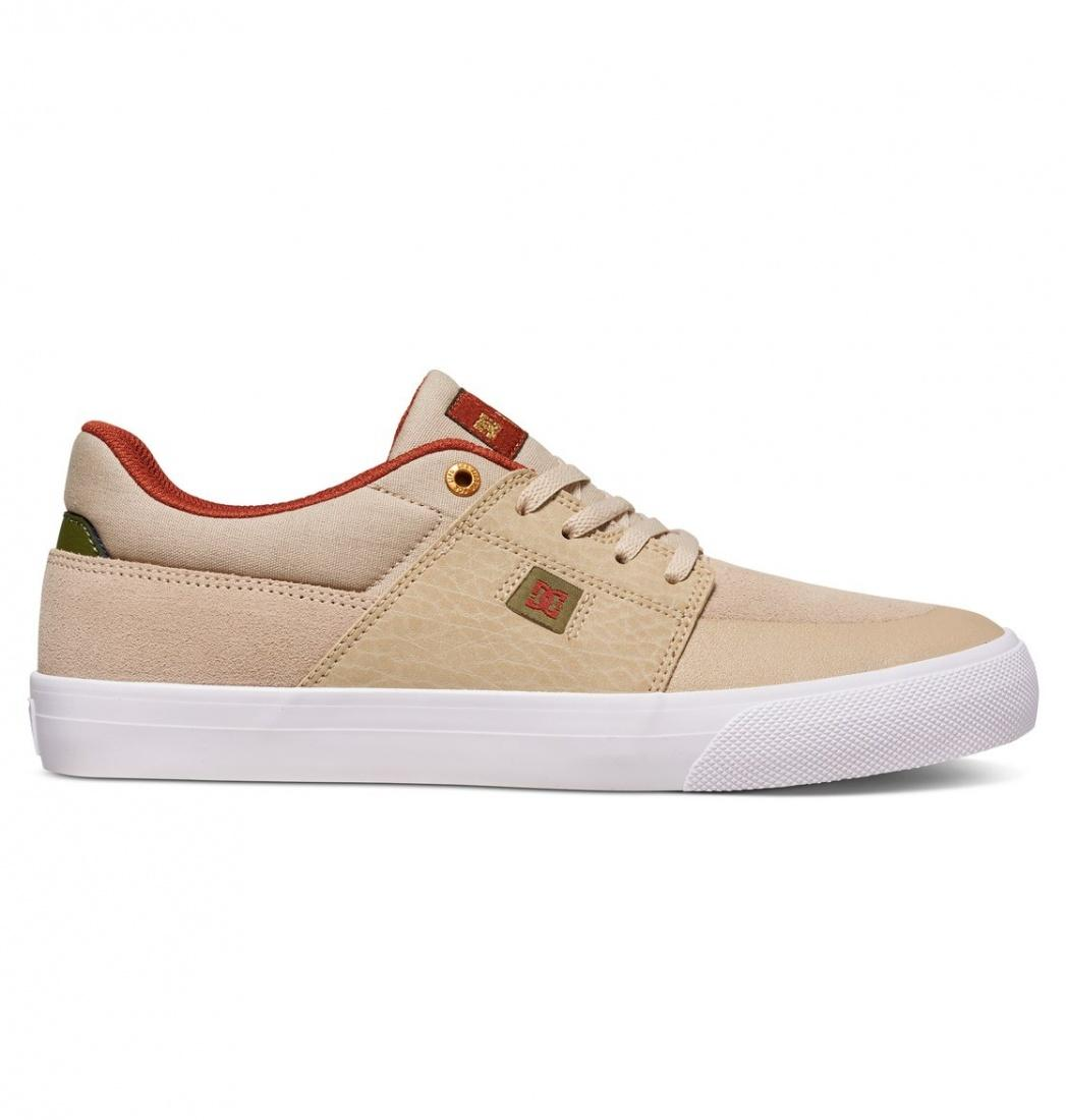 DC SHOES Кеды DC shoes Wes Kremer TAN/BROWN US 8.5 dc shoes зимние кеды dc shoes evan smith wnt wheat fw17 us 9