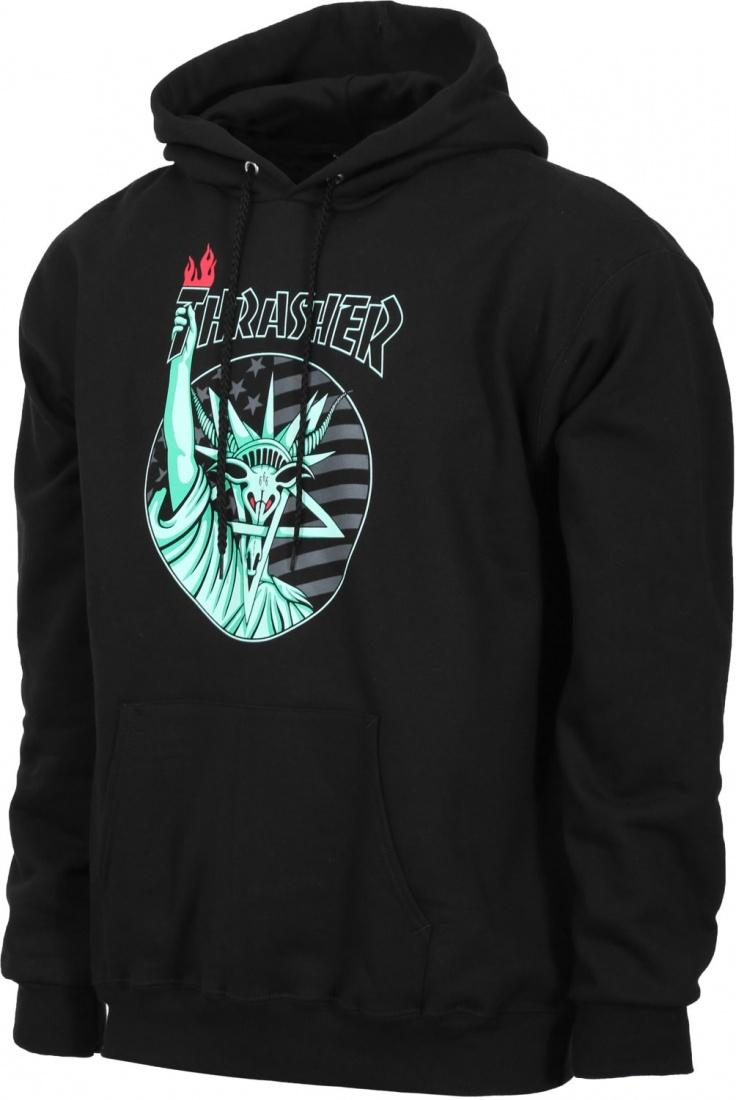 THRASHER Толстовка Thrasher Liberty Goat Hoody Black XL