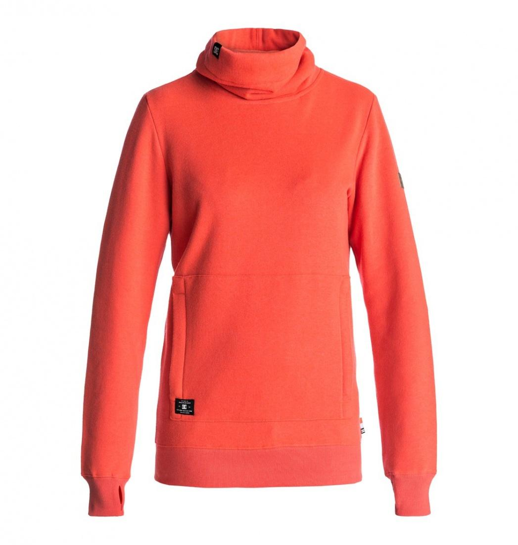DC SHOES Толстовка DC shoes Veneer FIERY CORAL L куртки dc shoes куртка
