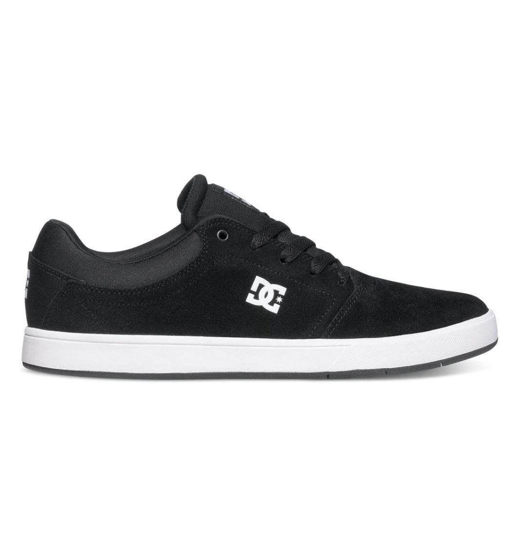 DC SHOES Кеды DC shoes Crisis BLACK/WHITE US 10.5 dc shoes зимние кеды dc shoes evan smith wnt wheat fw17 us 9