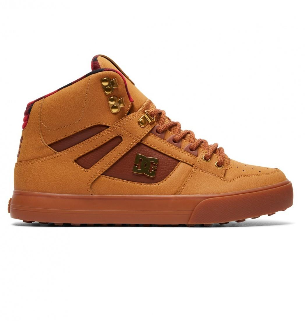 DC SHOES Зимние кеды DC shoes Spartan High WC WNT WHEAT/BLACK/DK CHOCOLATE, , FW17 9 кеды кроссовки высокие dc spartan high wc black tan