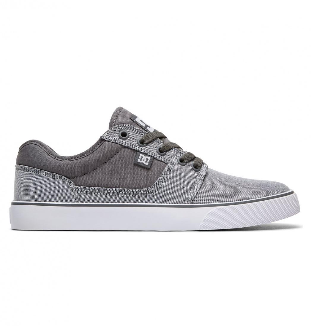 DC SHOES Кеды DC shoes Tonik TX SE GREY/WHITE US 11.5