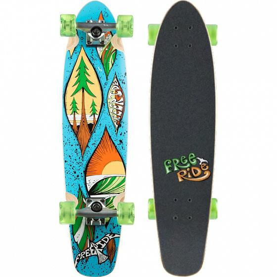 FREERIDE Комплект лонгборд FREERIDE DROPLET MID Assorted