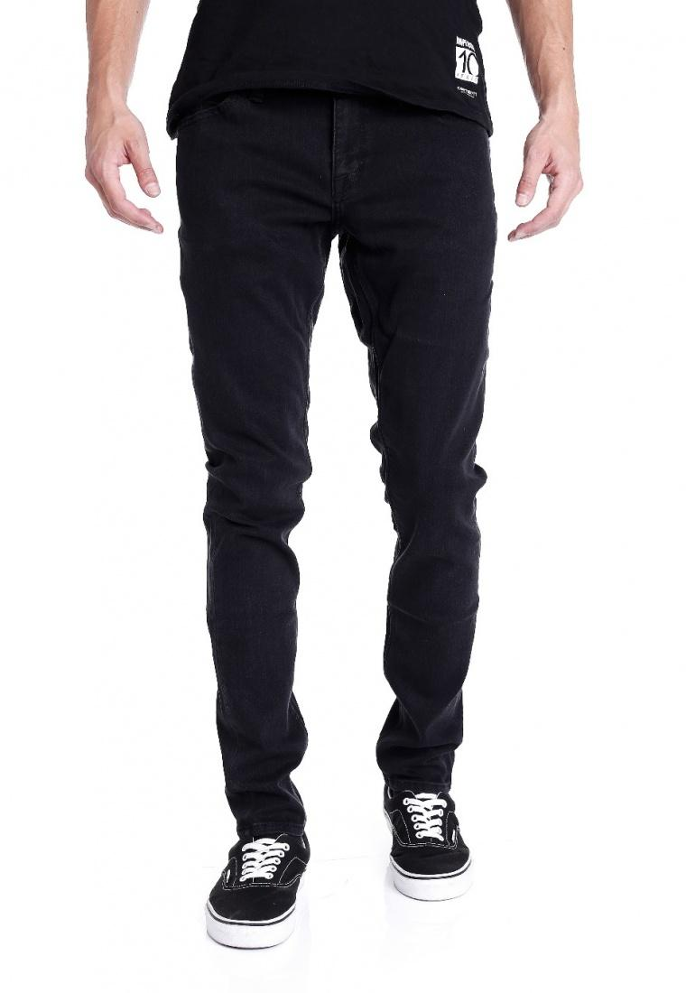 Volcom Джинсы Volcom Vorta Tapered DUSTED BLACK 34 бордшорты volcom шорты