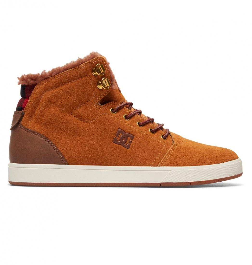 кеды dc shoes кеды crisi high DC SHOES Зимние кеды DC shoes Crisis High WNT WHEAT/DK CHOCOLATE, , FW17 11.5