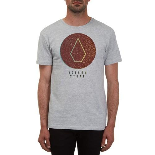 Volcom Футболка Volcom Cracked BSC Heather Grey L