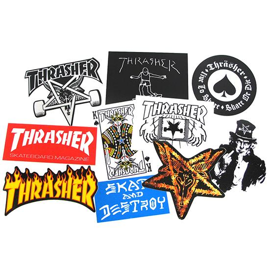 Наклейка Thrasher STICKER 10 PACK
