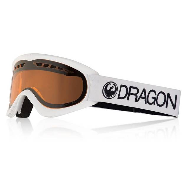 Dragonoptical Маска сноубордическая Dragonoptical DX White/Lamber One size