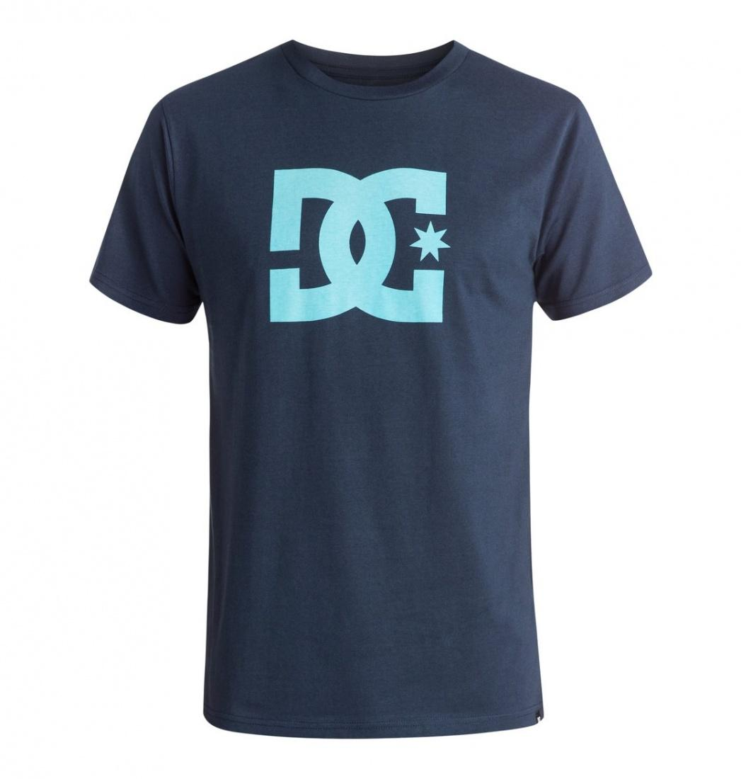 DC SHOES Футболка DC STAR BLUE IRIS/BLUE TOPAS XL куртка детская dc wiper 2 blue iris