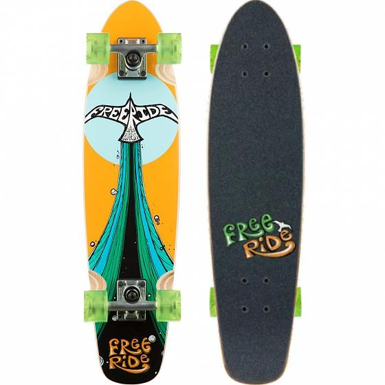 FREERIDE Комплект лонгборд FREERIDE HIGHTAIL Assorted