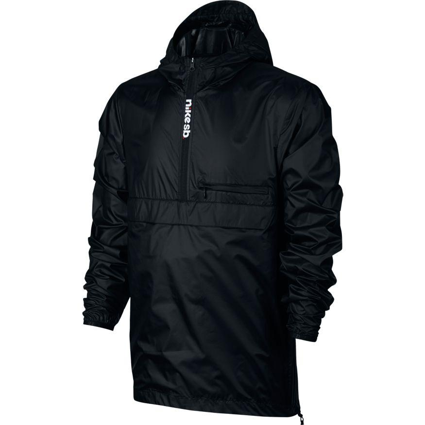 Nike SB Куртка Nike SB Packable Anorak Черный/Черный, , ,  S nike sb футболка nike sb dry tee df skyscrpr s