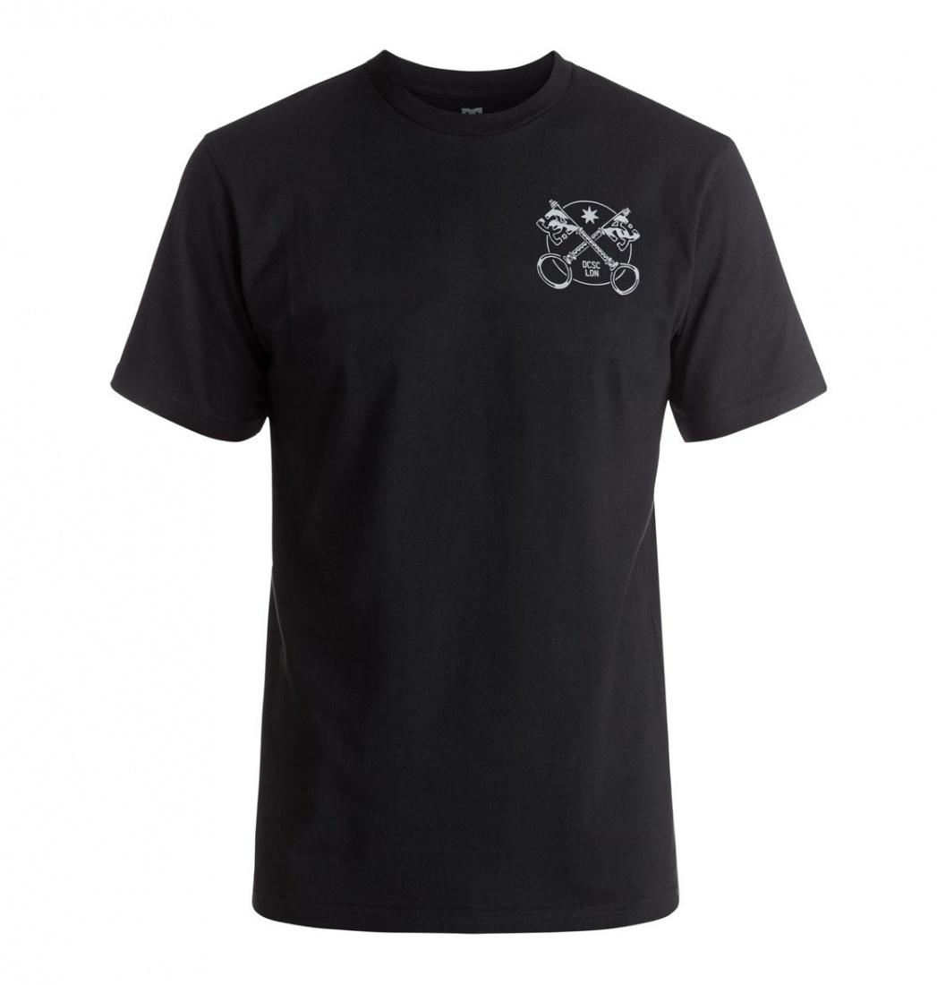 DC SHOES ФУТБОЛКА DC KIOSK SS M TEES KVJ0 МУЖСКАЯ BLACK XL dc shoes майка dc this way out ta tees black