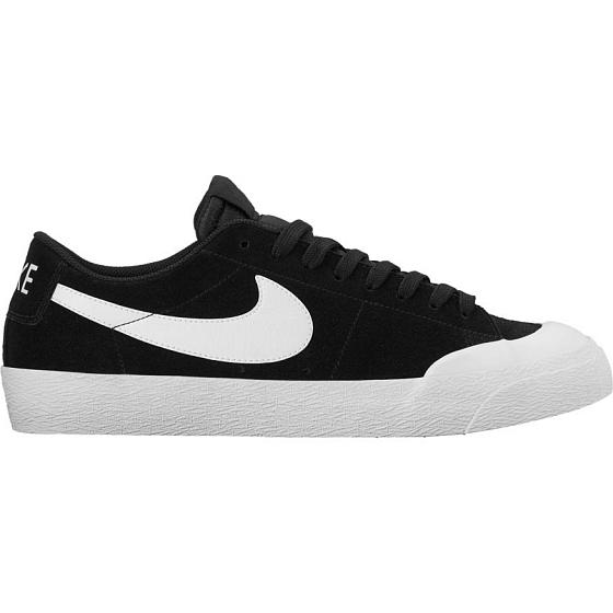 Nike SB Кеды Nike SB Blazer Zoom Low XT Black White US 9 nike sb кеды nike sb portmore ii solar black black antracite 11