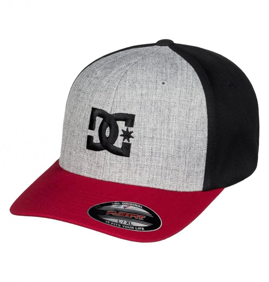 DC SHOES КЕПКА-БЕЙСБОЛКА DC Cap Star 2 M HATS XRRS муж. CHILI PEPPER/GREY HEATHER L/XL рубашка в клетку dc shoes yorton ls chili pepper