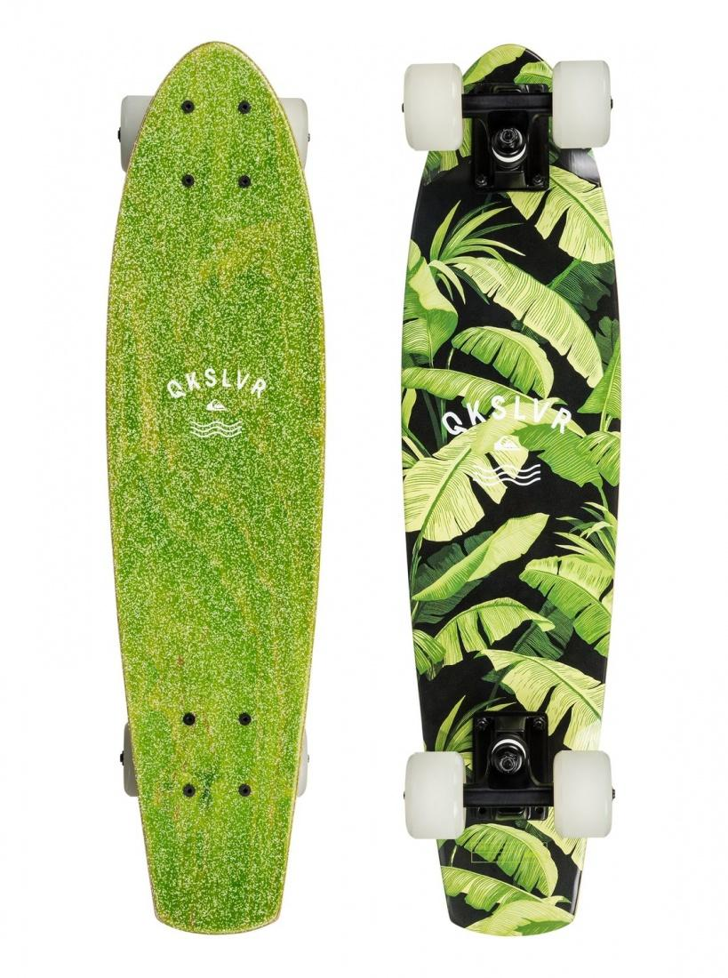 WSD&Co Круизер Quiksilver Green Jungle Soft Lime One size куртка джинсовая детская quiksilver jungle temple you jckt blue salted