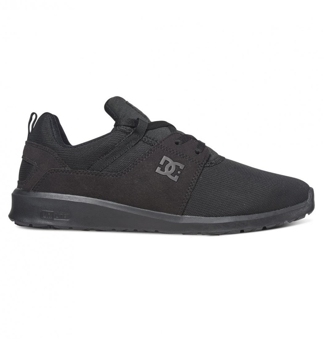 DC SHOES ПОЛУКЕДЫ DC HEATHROW M SHOE 3BK МУЖСКИЕ BLACK/BLACK/BLACK 10.5 dc shoes кеды dc heathrow 8