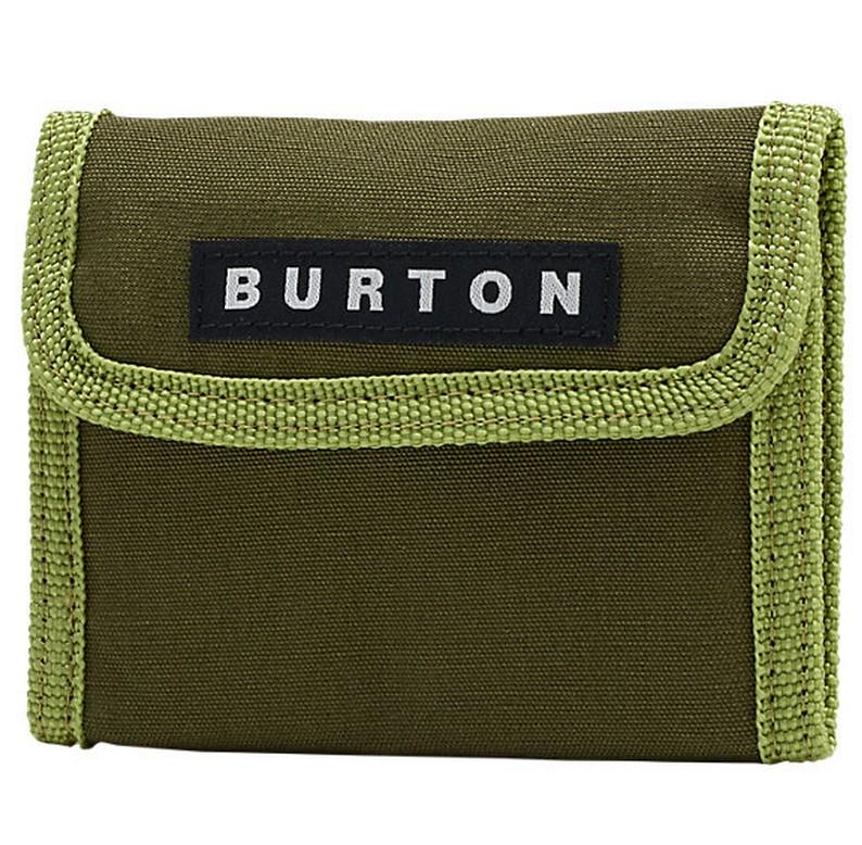 Burton Кошелек Burton CLAYMORE Dark Green One size burton парафин burton all season fast wax gray fw18 one size