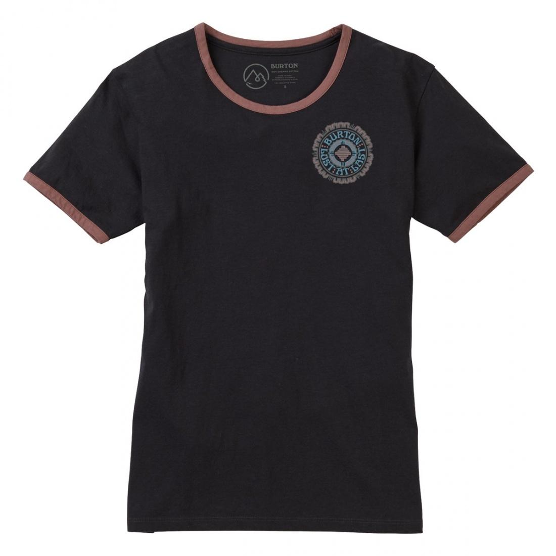 Burton Футболка Burton Timkey Short Sleeve Phantom XS burton футболка burton deadwood rec heather night rider