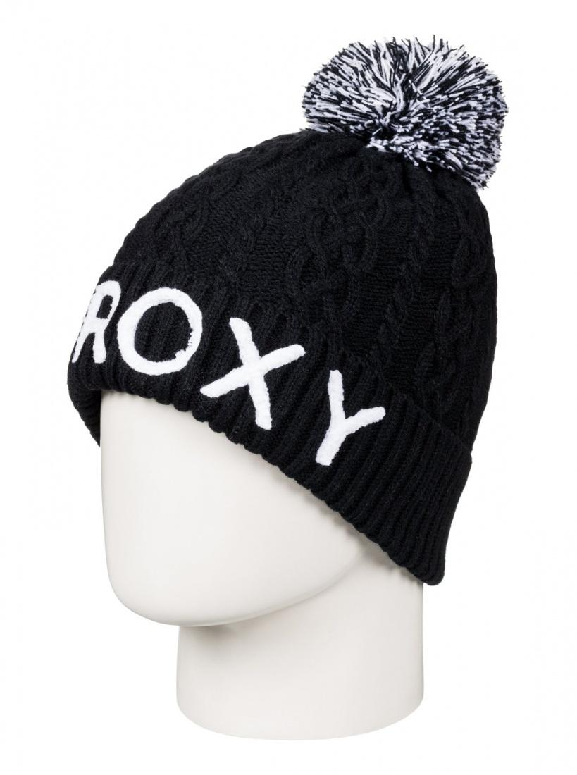Roxy Шапка Roxy Fjord TRUE BLACK, , FW17 цены онлайн