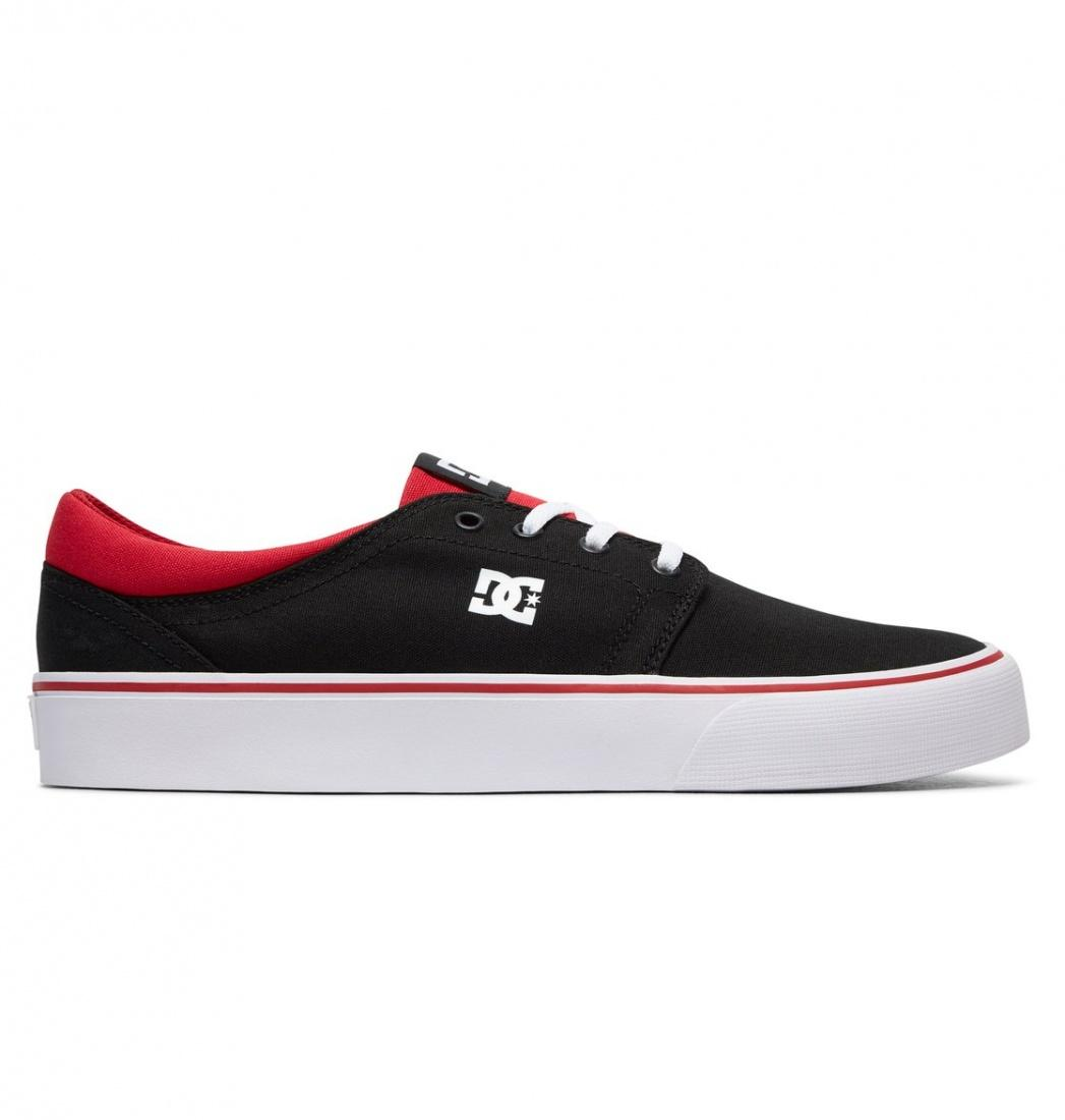 DC SHOES Кеды DC shoes Trase TX BLACK/ATHLETIC RED/BLACK US 8 dc shoes кеды dc shoes tonik tx red 11
