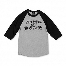 Футболка SKATE AND DESTROY RAGLAN