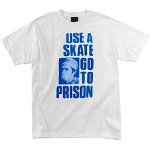 Футболка USE A SKATE GO TO PRISON-NEW