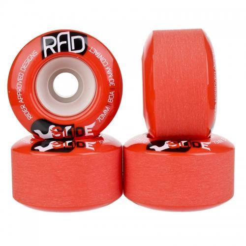 Колеса для лонгборда RAD GLIDE Red 70 мм