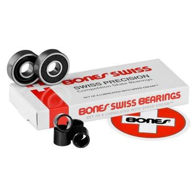 Подшипники для скейтборда Bones 7 Ball Swiss 8mm 8 Packs  8мм