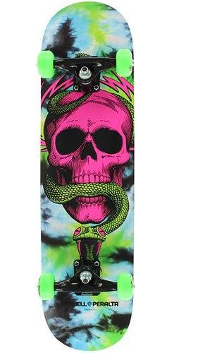 Скейтборд в сборе PP Skull & Snake Cosmic Red 7.625