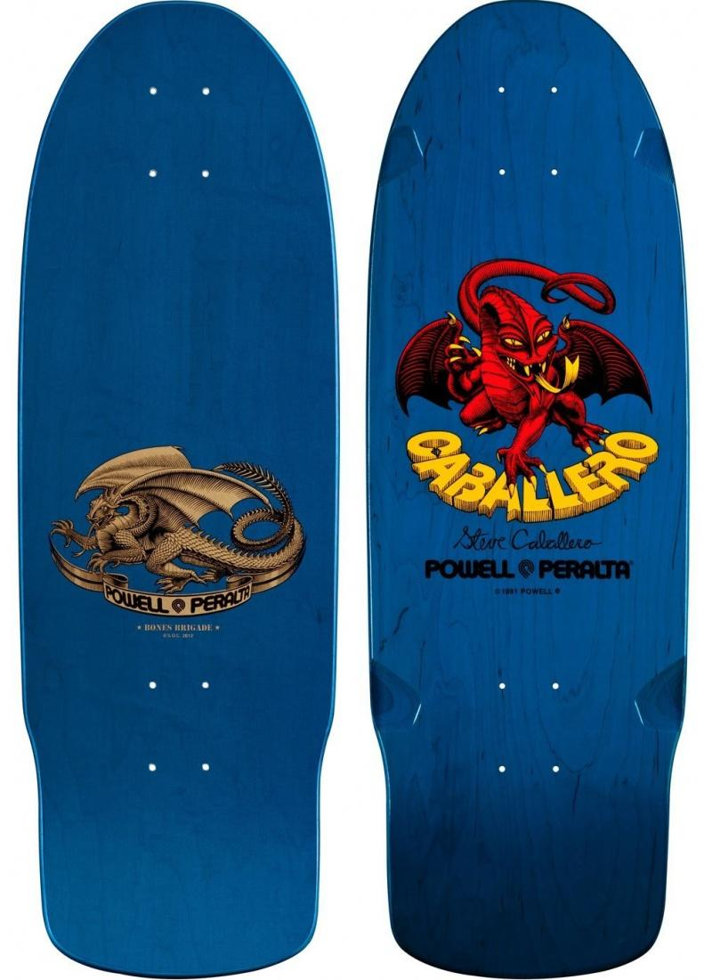 Дека для скейтборда Powell Peralta Bones Brigade Steve Caballero
