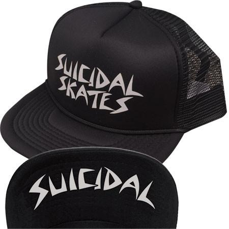 Бейсболка Dogtown&Suicidal Hat Mesh Flip Suicidal Skates Black