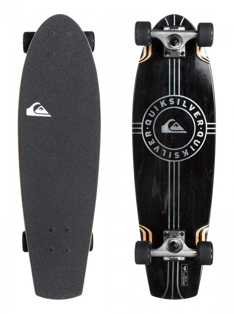 Скейтборд Quiksilver BLACK BEAUTY Black