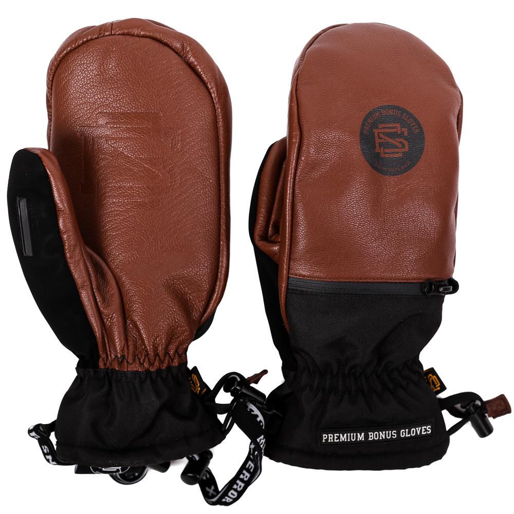 Варежки Bonus Gloves Leather  S/M
