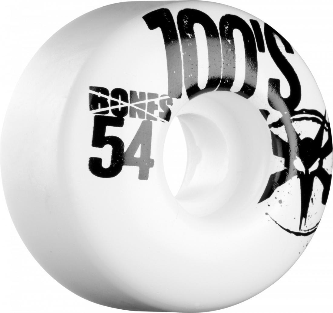 Комплект колес Bones 54mm x 34mm 100S WHITE