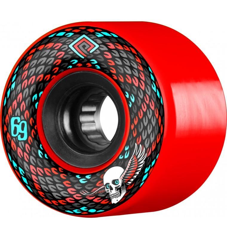 Колеса для скейтборда Powell Peralta PP SNAKES WHITE 69 мм