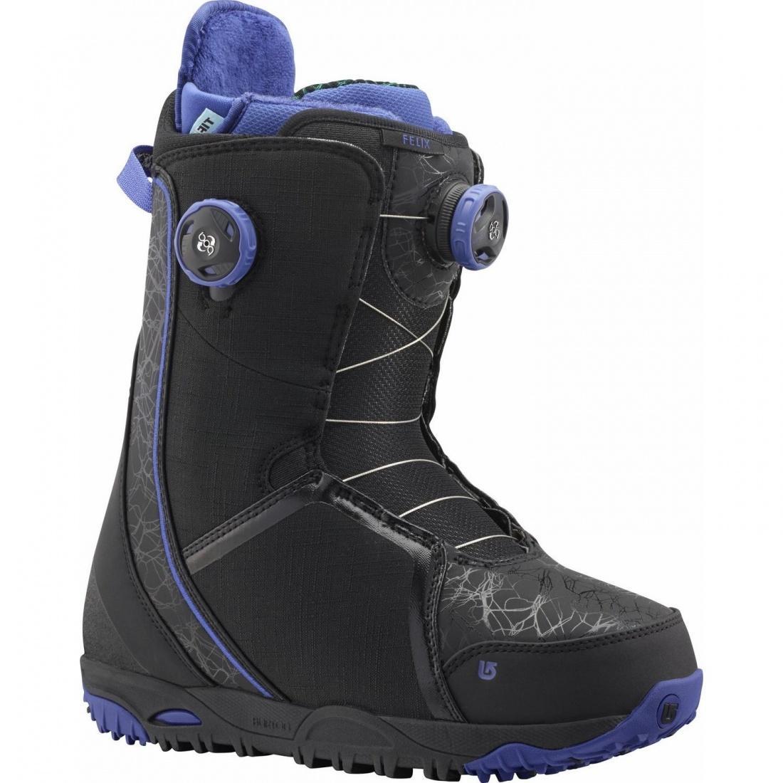 Ботинки для сноуборда Burton Felix BOA Black/Purple 7