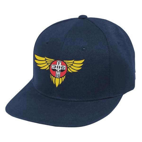 Бейсболка Hat Snapback Wings Embroidered Black