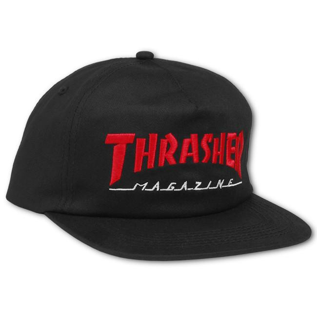 Кепка Thrasher Magazine Logo Two-Tone Hat White/Red