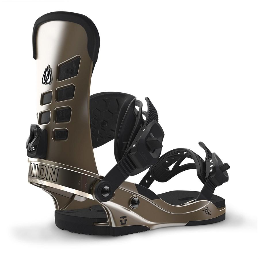 Крепления для сноуборда Union T.Rice Metallic black M