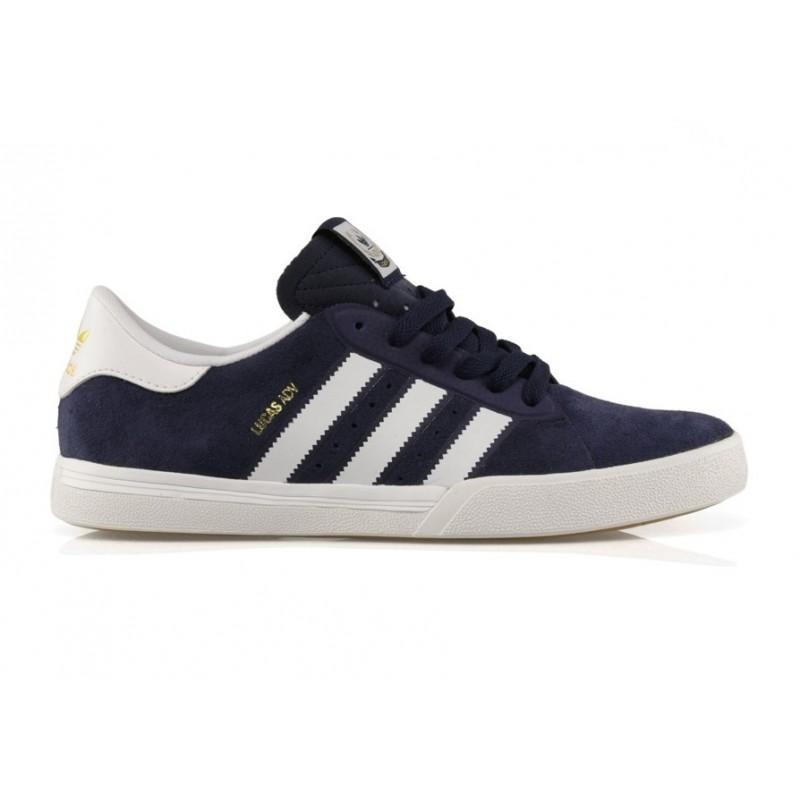 Кеды Adidas Lucas Premiere ADV Collegiate Navy/Footwear White/Scarlet 11.5