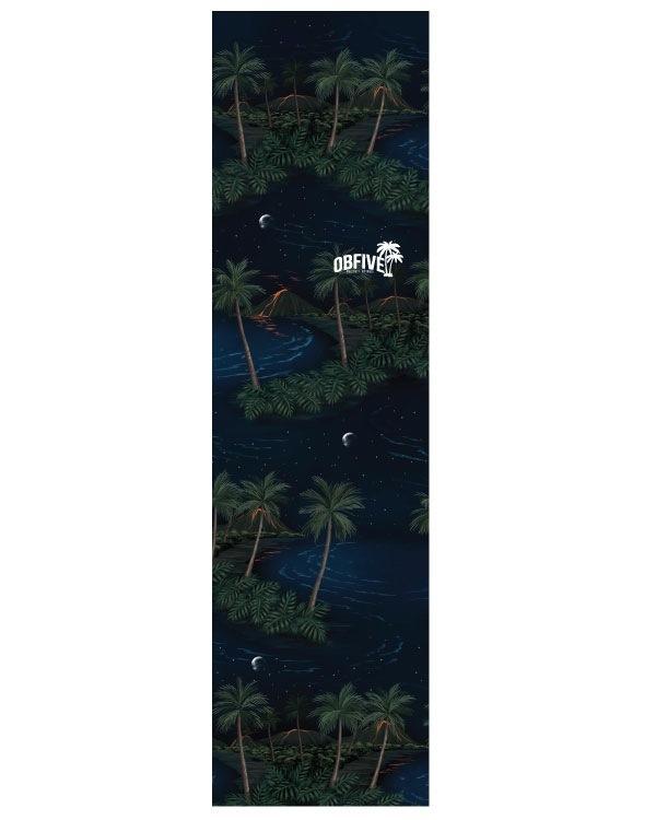 Шкурка для лонгборда OBfive Hawaiian Nights  9x33
