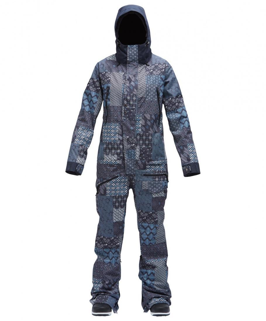Сноубордический комбинезон Airblaster Women's Freedom Suit Storm Blue L