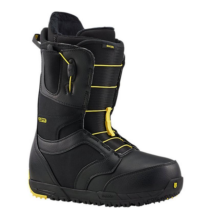 Ботинки для сноуборда Burton Ruler-Wide Black/Yellow 10