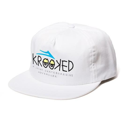 Бейсболка Lakai KROOKED - Snap - HAT Black
