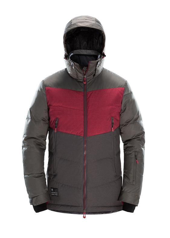 Куртка сноубордическая VR Berserk 1020/черный/асфальт M