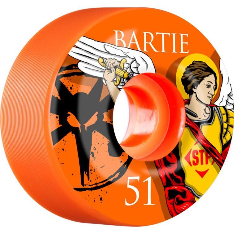 Колеса для скейтборда Bones Bartie Saint Orange 51 мм
