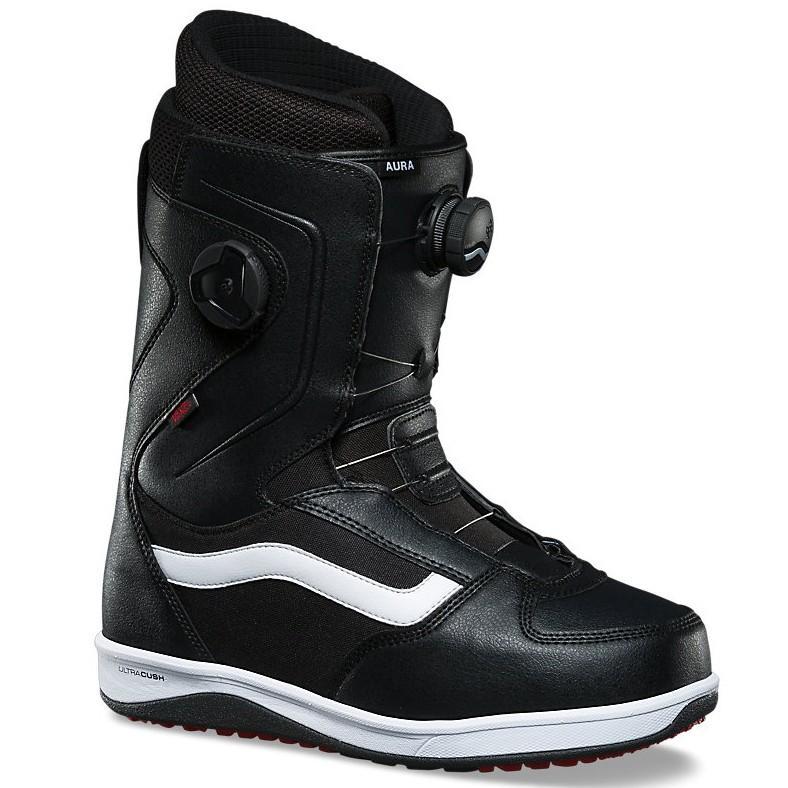 Ботинки для сноуборда Vans Aura BlackWhite 8.5