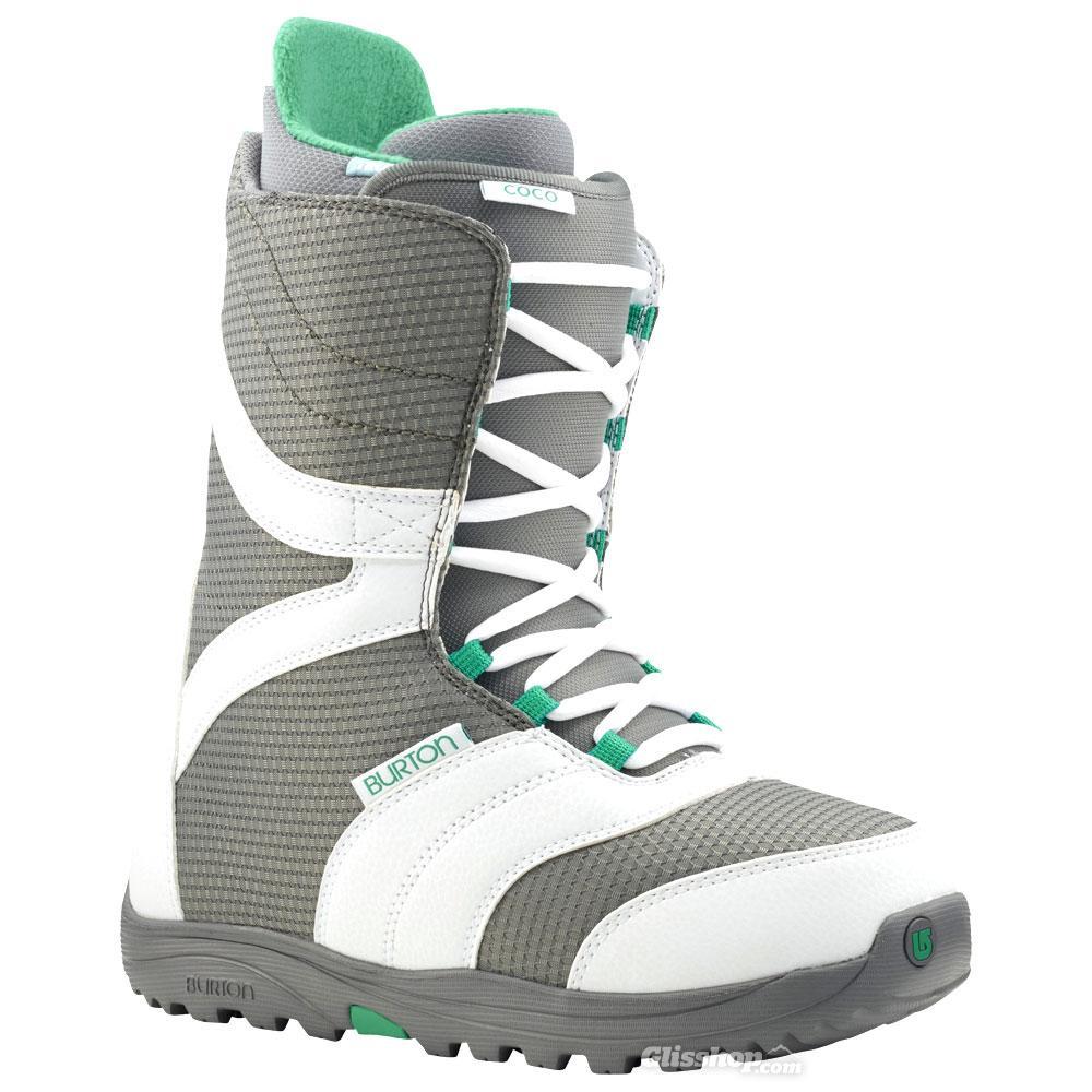 Ботинки для сноуборда Burton Coco WHITE/GRAY/TEAL 7