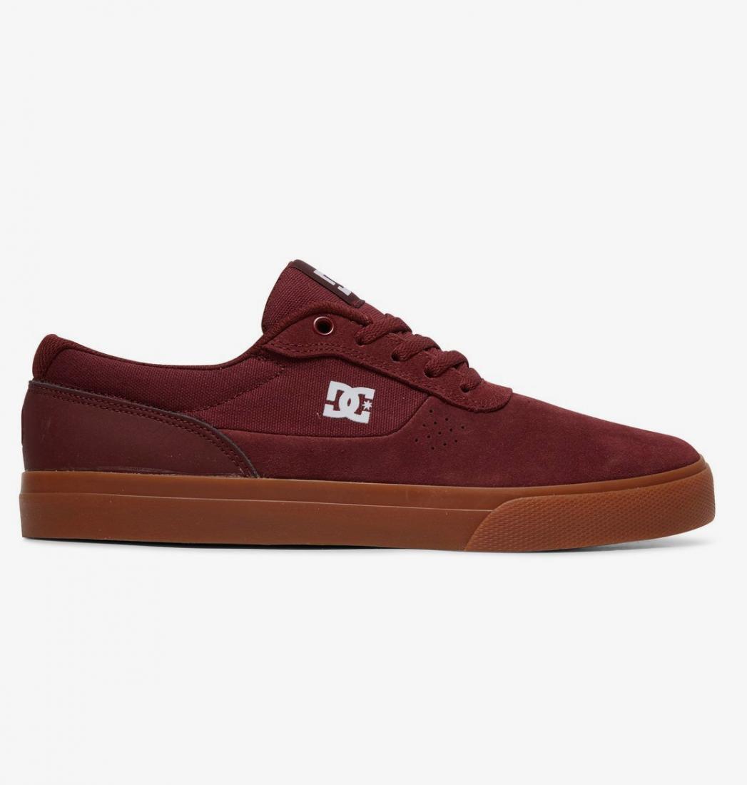 Кеды DC shoes Switch BURGUNDY US 8.5